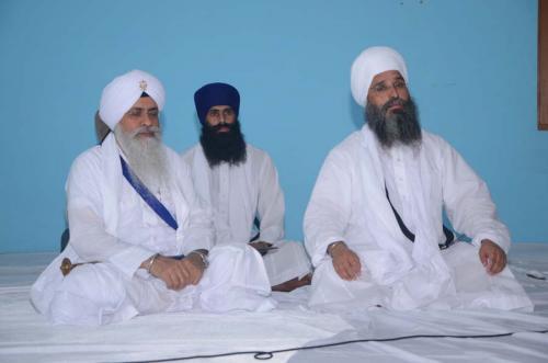 Giani Iqbal Singh ji and Sant Baba Amir Singh ji