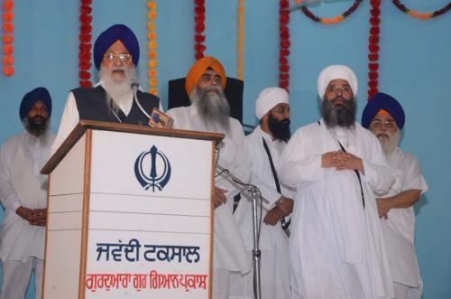 Jathedar Avtar Singh Makar ji