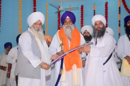 Singh Sahib Giani Gurbachan Singh ji and Sant Baba Amir Singh ji and Bhai Guriqbal Singh ji