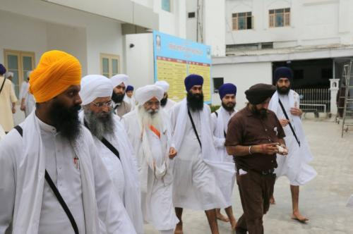 Bhai Guriqbal Singh ji and Sant Baba Amir Singh ji  Mukhi Jawaddi Taksal