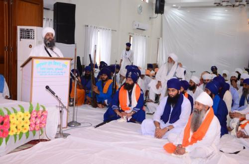 Sant Baba Amir Singh ji Mukhi Jawaddi Taksal 10