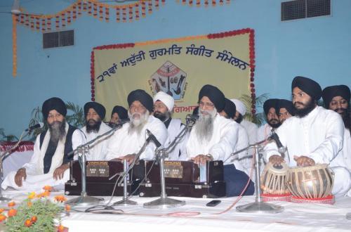 Adutti Gurmat Sangeet Samellen Jawaddi Taksal 2012 (1)