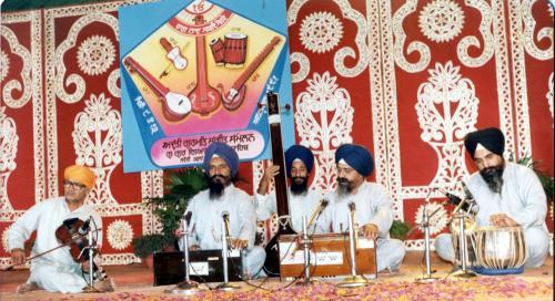 Adutti Gurmat Sangeet Samellan- 1991 (10)
