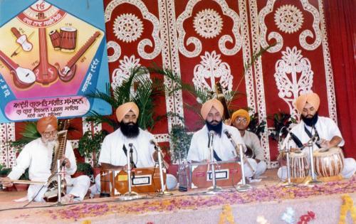 Adutti Gurmat Sangeet Samellan- 1991 (48)
