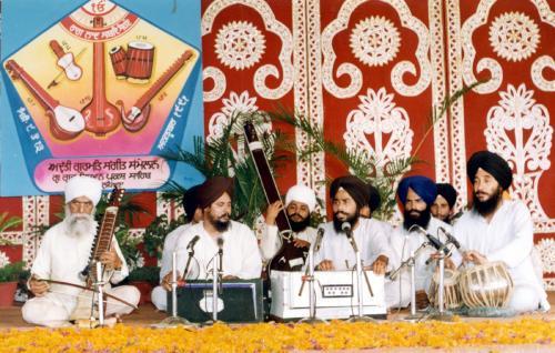 Adutti Gurmat Sangeet Samellan- 1991 (8)