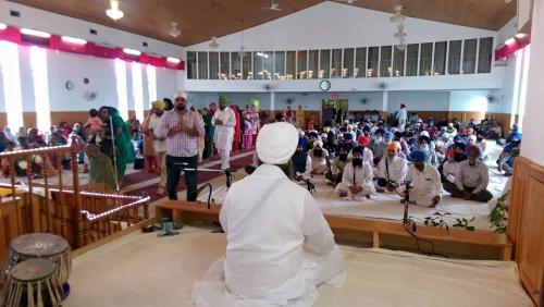 Sant Baba Amir Singh ji Canada tour 2014