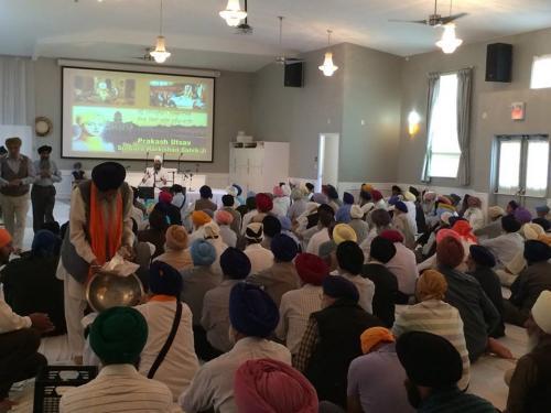 Sant Baba Amir Singh ji Canada tour 2014 10