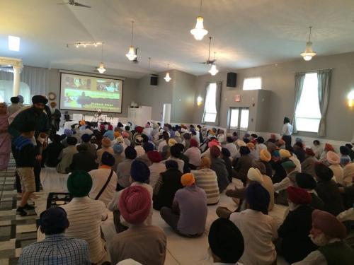 Sant Baba Amir Singh ji Canada tour 2014 7