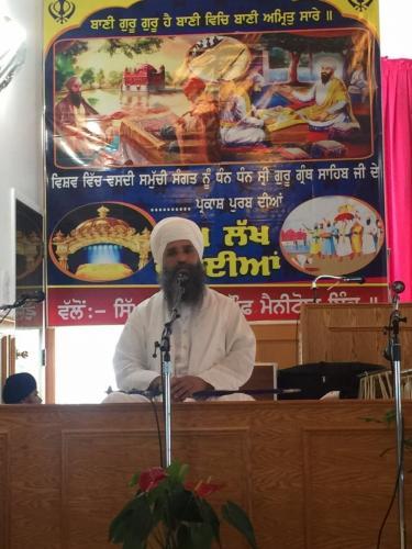 Sant Baba Amir Singh ji  Canada Tour 2015 1