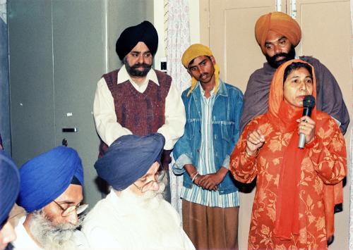 Concept of five Beloved (Panj Piyare) in Sikhism seminar (103)