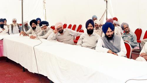 Concept of five Beloved (Panj Piyare) in Sikhism seminar (106)