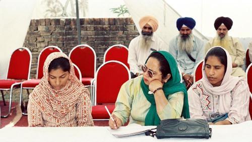 Concept of five Beloved (Panj Piyare) in Sikhism seminar (109)
