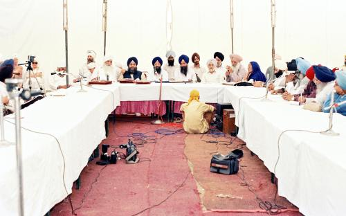 Concept of five Beloved (Panj Piyare) in Sikhism seminar (112)