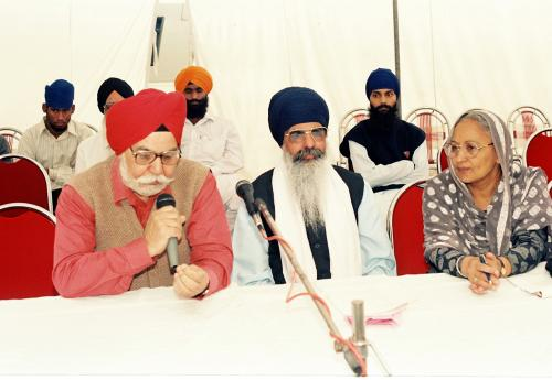Concept of five Beloved (Panj Piyare) in Sikhism seminar (2)