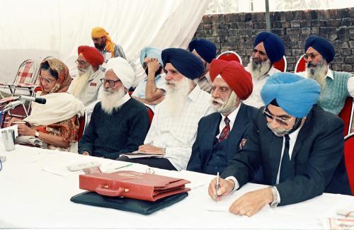 Concept of five Beloved (Panj Piyare) in Sikhism seminar (21)