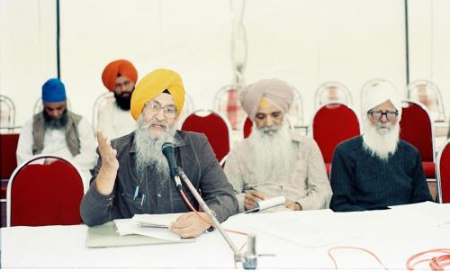 Concept of five Beloved (Panj Piyare) in Sikhism seminar (77)