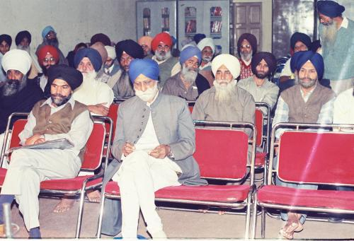 Concept of five Beloved (Panj Piyare) in Sikhism seminar (86)