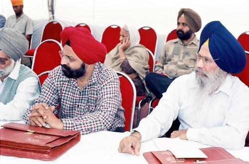 Concept of five Beloved (Panj Piyare) in Sikhism seminar (87)