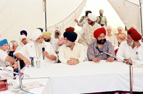 Concept of five Beloved (Panj Piyare) in Sikhism seminar (90)