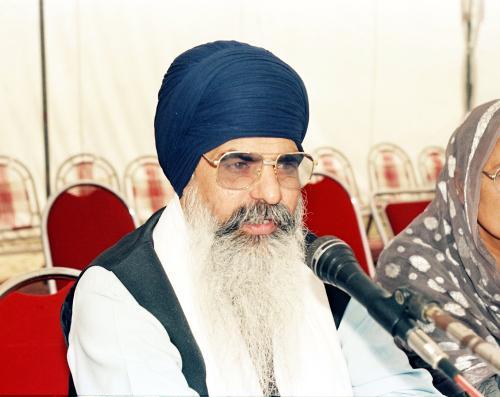 Sant Baba Sucha Singh ji Concept of five Beloved (Panj Piyare) in Sikhism seminar (115)
