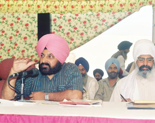 Contribution of Sri Guru Granth Sahib To Humanity seminar (112)