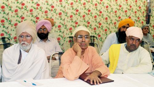 Contribution of Sri Guru Granth Sahib To Humanity seminar (46)