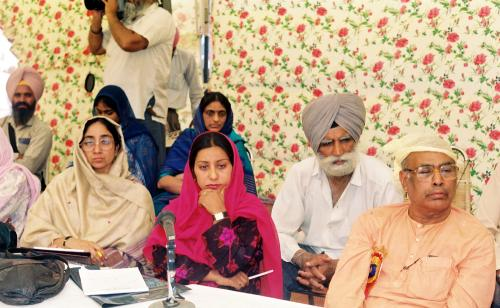 Contribution of Sri Guru Granth Sahib To Humanity seminar (75)