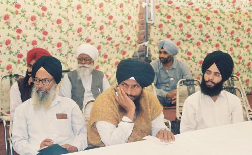 Contribution of Sri Guru Granth Sahib To Humanity seminar (90)