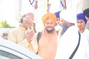 Sant Baba Amir Singh ji and Ustaad sushil kumar jain