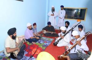 Ustaad Inderjit Singh Bindu and bhai sandeep Singh ji