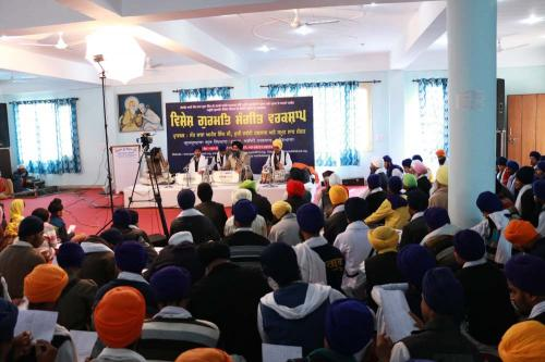 Gurmat Sangeet Workshop, February 2016 (10)