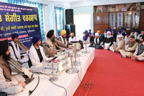 Gurmat Sangeet Workshop, February 2016 (6)