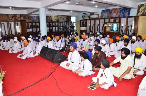 Gurmat Sangeet Workshop 2016 Jawaddi Taksal  333