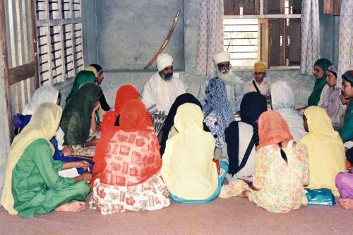 Gurmat Sangeet Workshop 1992 (2)