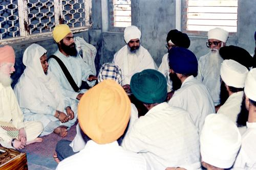 Gurmat Sangeet Workshop 1992 (5)