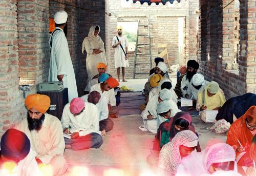Gurmat Sangeet Workshop 1992 (6)