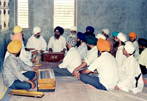 Gurmat Sangeet Workshop 1992 (8)