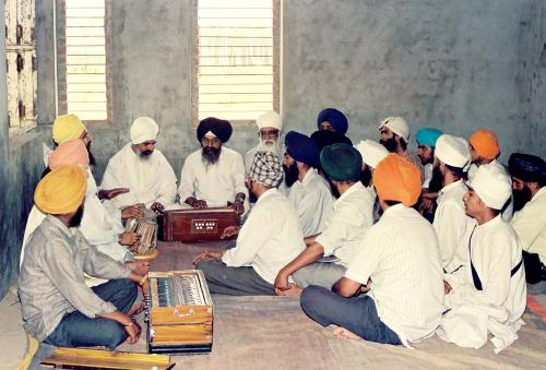 Gurmat Sangeet Workshop 1992 (9)