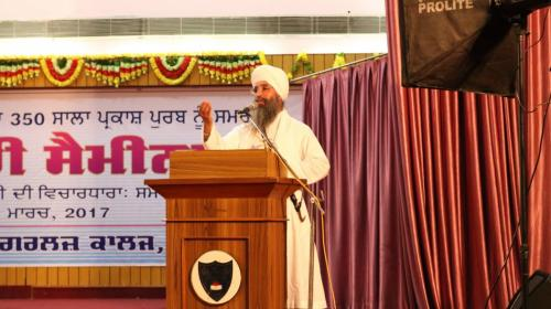 Seminar at Ramgarhia Girls Collage Ludhiana Jawaddi Taksal (10)