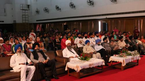 Seminar at Ramgarhia Girls Collage Ludhiana Jawaddi Taksal (14)