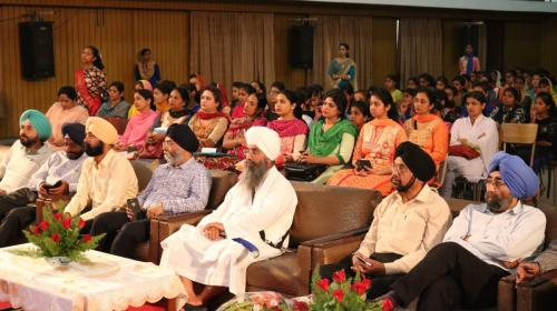 Seminar at Ramgarhia Girls Collage Ludhiana Jawaddi Taksal (3)