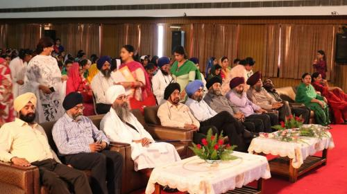 Seminar at Ramgarhia Girls Collage Ludhiana Jawaddi Taksal (4)
