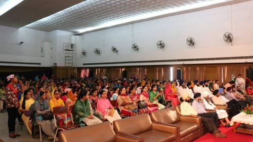 Seminar at Ramgarhia Girls Collage Ludhiana Jawaddi Taksal (5)
