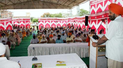 Sikh Panth nu Darpesh chunautiyan Seminar was organized by Vismaad Naad, Ludhiana  (2)