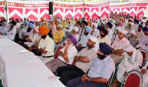 Sikh Panth nu Darpesh chunautiyan Seminar was organized by Vismaad Naad, Ludhiana  (5)