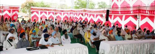 Sikh Panth nu Darpesh chunautiyan Seminar was organized by Vismaad Naad, Ludhiana  (7)