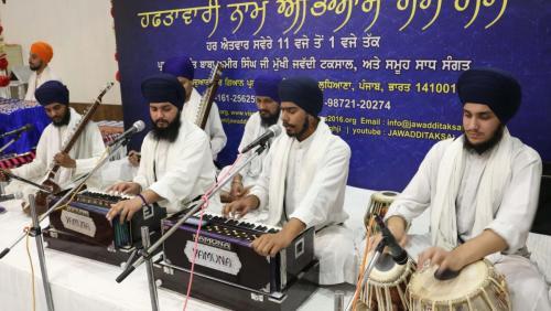 Weekly Simran Samagam November 12, 2017  Sant Baba Amir Singh ji Mukhi Jawaddi Taksal (1)