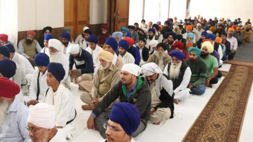 Weekly Simran Samagam November 12, 2017  Sant Baba Amir Singh ji Mukhi Jawaddi Taksal (16)
