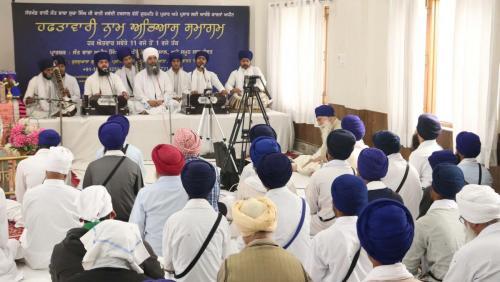 Weekly Simran Samagam November 12, 2017  Sant Baba Amir Singh ji Mukhi Jawaddi Taksal (17)