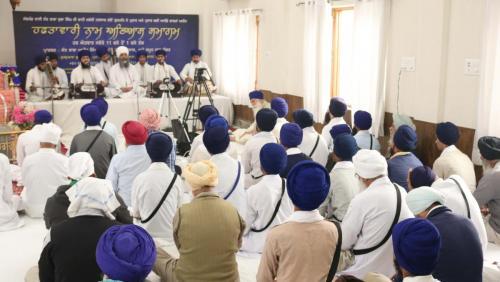 Weekly Simran Samagam November 12, 2017  Sant Baba Amir Singh ji Mukhi Jawaddi Taksal (18)